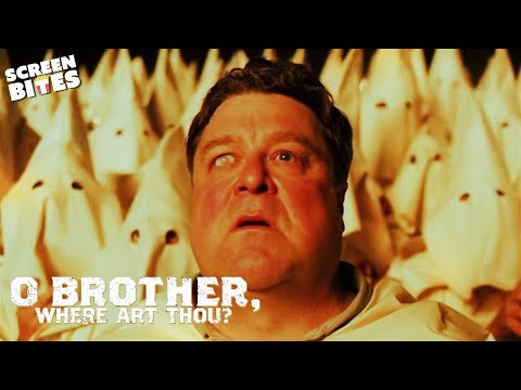 The Soggy Bottom Boys Against The Ku Klux Klan | O Brother, Where Art Thou? | SceneScreen