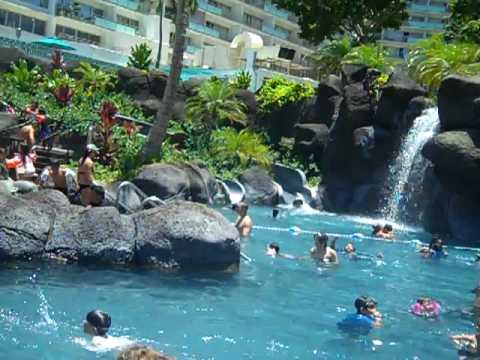 Paradise Pool At Hilton Hawaiian