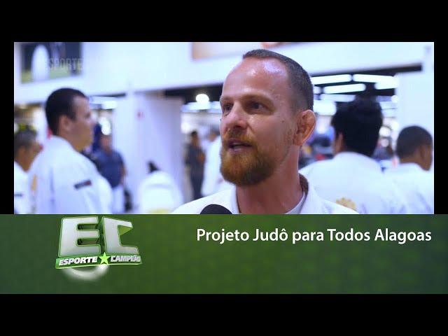 Projeto Judô para Todos Alagoas realiza aulão em Maceió