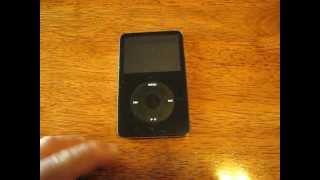 Apple ipod clasico repaso
