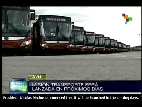 Venezuela: Transport Mission to be launched in the coming days