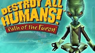 Destroy All Humans! Path of the Furon - WEAPONS
