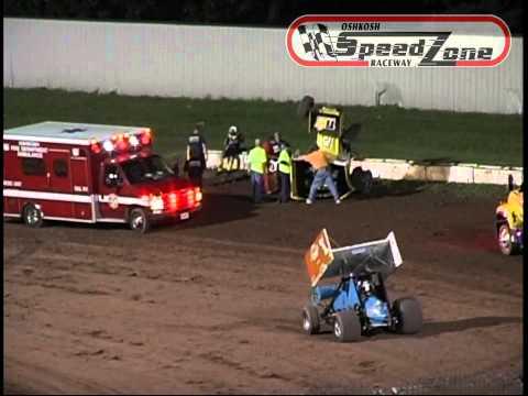 """Oshkosh Speedzone Raceway - Wreck of the Week"""" - June 21, 2013"""