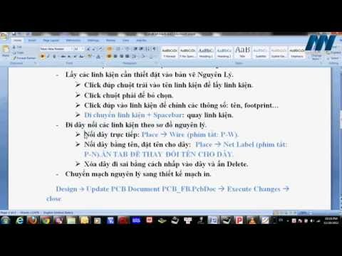 Hướng dẫn : Vẽ mạch in bằng Altium Designer ( Phần 1 ) - [ http://banlinhkien.vn/ ]