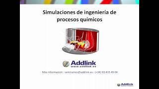 Simulaciones de ingeniería de procesos químicos (5.0)