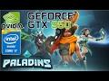 Paladins | nVidia Geforce GTX 950M | Intel core i7 6700HQ