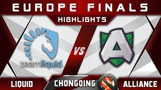 Liquid vs Alliance [EPIC FUN] Chongqing Major 2018 Highlights Dota 2