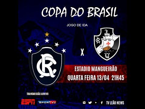 Copa do Brasil - Clube do Remo 0 x 1 Vasco - Jogo Completo