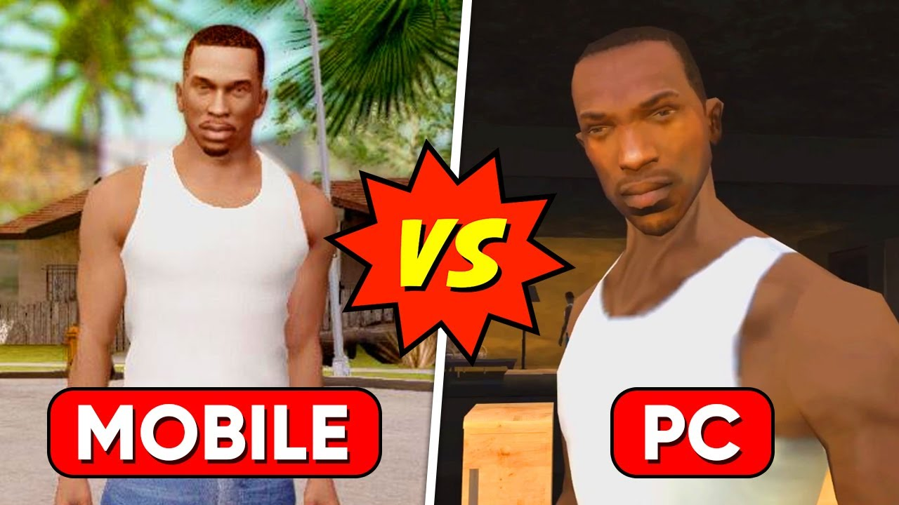GTA San Andreas Mobile Vs GTA San Andreas PC 😱 | 15 *DIFFERENCES* Rockstar Doesn't Want You To Know