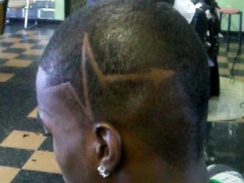 mohawk with design