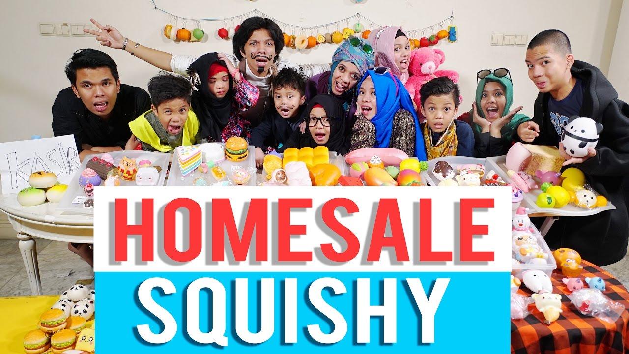 Squishy Terslow Di Dunia : HOME SALE SQUISHY TERBESAR DI DUNIA, SITKOM SUPER GOKIL - GEN HALILINTAR - YouTube