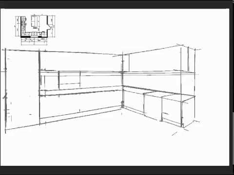 Tutorial kitchen perspective youtube - Kitchen design tutorial ...