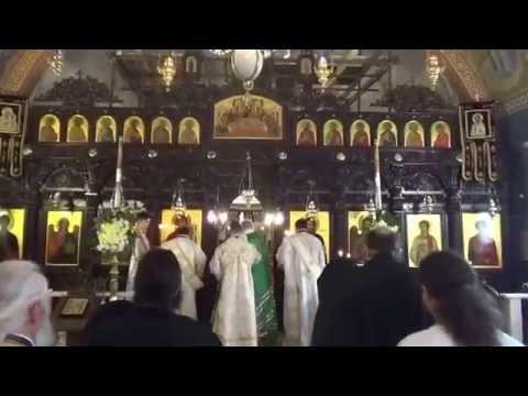 Orthodox Patriarch of Sofia serves Divine Liturgy - The Lord's Transfiguration