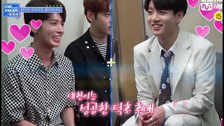 txt taehyun fanboying jungkook (happy taehyun day!!)