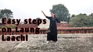 Easy steps on Laung Laachi