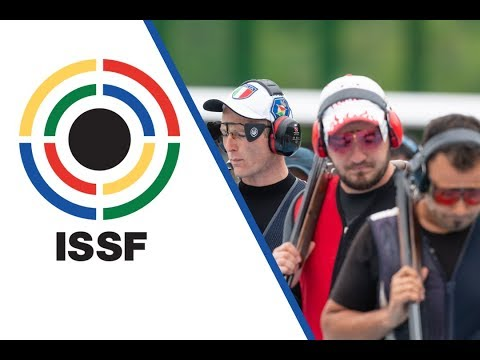 Trap Men Final - 2018 ISSF World Cup Stage 2 in Changwon (KOR)