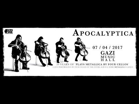 Apocalyptica - (Full Set) @ Gazi Music Hall, Athens 07/04/2017