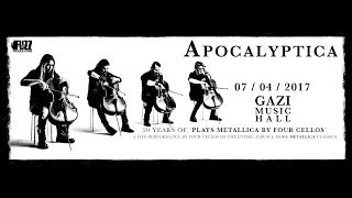Apocalyptica - (Full Set) @ Gazi Music Hall, Athens 07/04/2017
