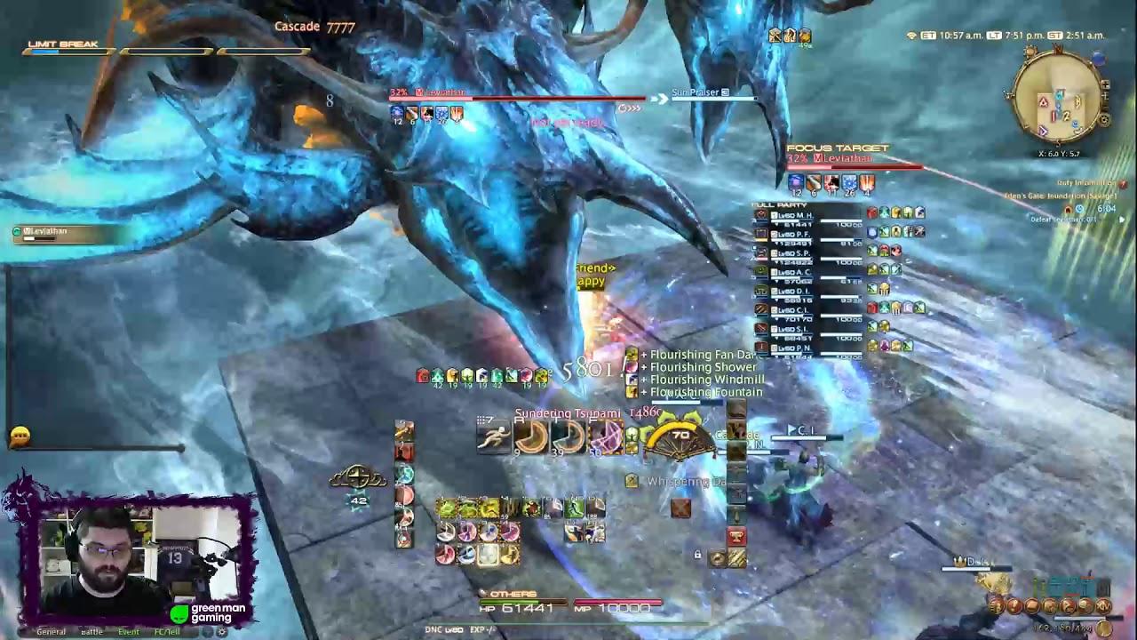 FFXIV: Eden's Gate Inundation (Savage) Clear