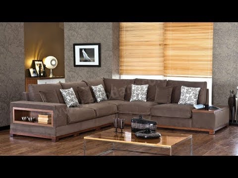 Стильные угловые диваны - идеи для гостиной