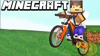 Minecraft Mods: Motos Esportivas no Minecraft - Steam Bikes