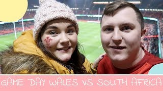 GAME DAY WALES VS SOUTH AFRICA