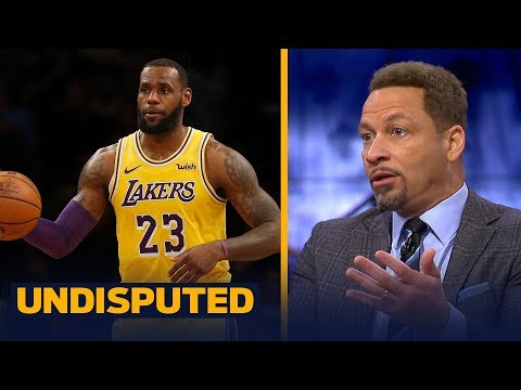 Chris Broussard picks LeBron and the Lakers vs Anthony Davis and the Pelicans   NBA   UNDISPUTED