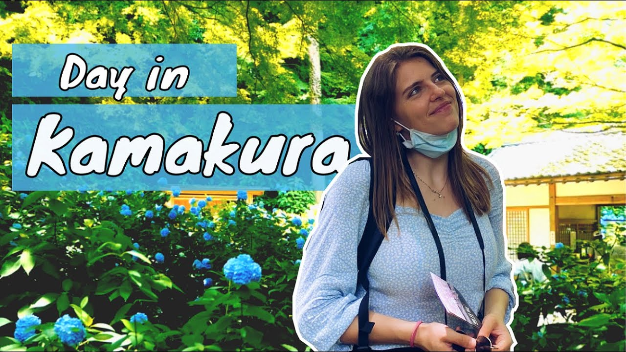 Day in Kamakura, Japan: Hydrangea and more  [TOP things to DO]