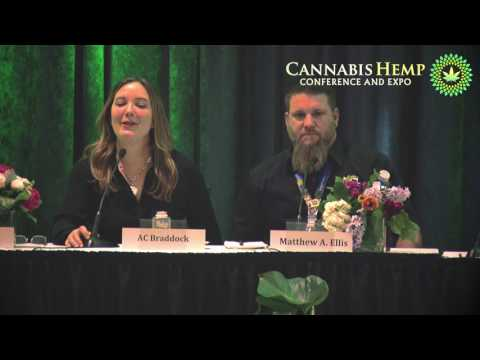 Extraction and Concentrates Panel at Cannabis Hemp Conference and Expo, Vancouver, Canada, 2017