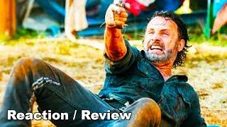 The Walking Dead Season 8 Episode 8 Full Episode REACTION - Carl Gets Bit by Walker! Carl Dies?