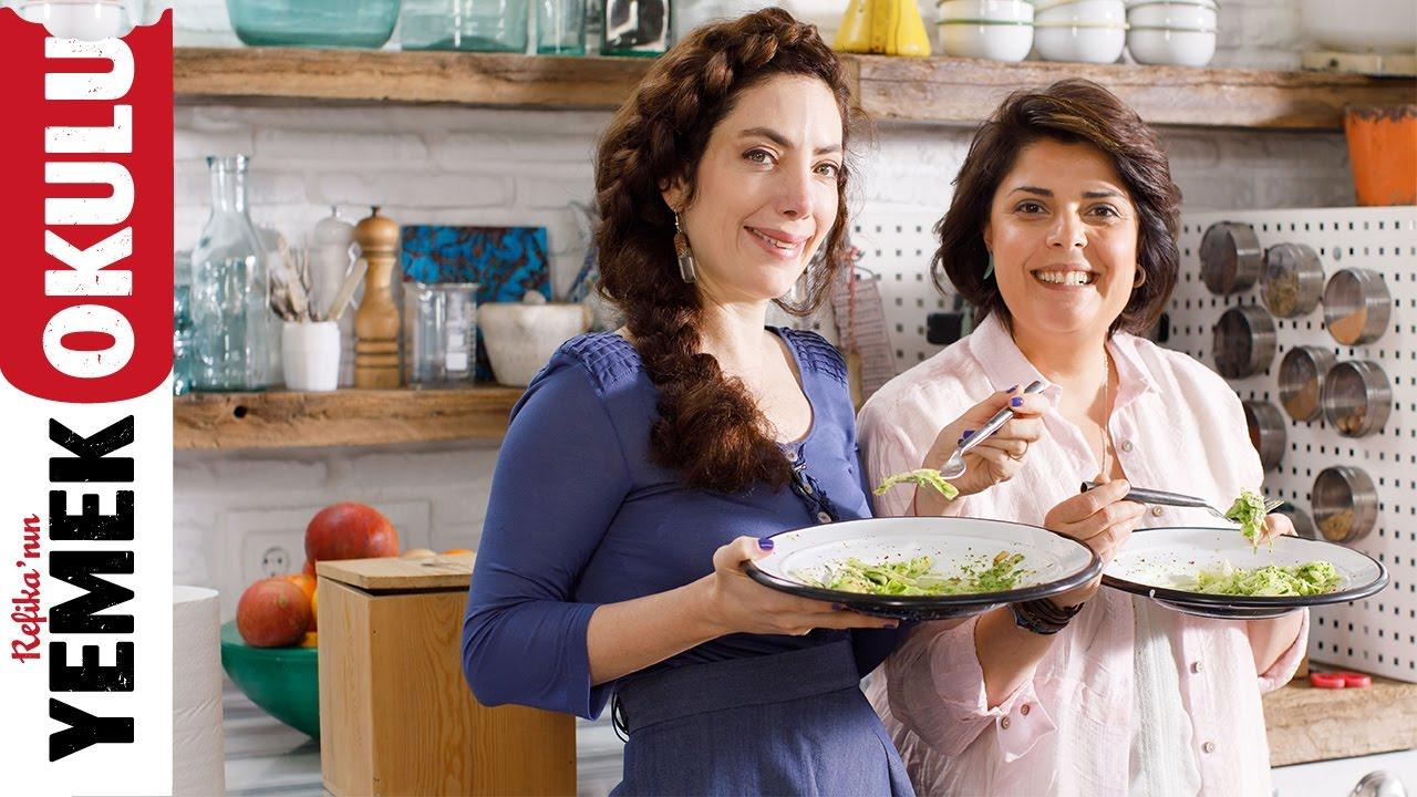 Akasya Ana ile Lahanadan Yeşil Makarna Tarifi | 5 Dakikalık Yemekler