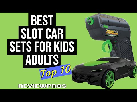 Best Slot Car Sets Kids Love (2021): Top 10 List Ever