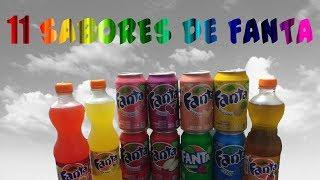 PROVAMOS 11 SABORES DE FANTA E FOI SURPREENDENTE!