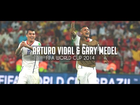 Arturo Vidal & Gary Medel - The Heart of Chile World Cup 2014 [720P - HD]