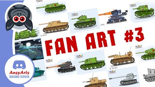 Fan Art #3   AnsyArts style drawings from subscribers