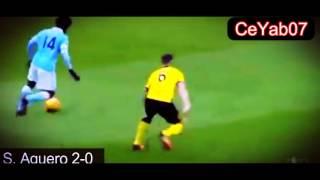 Manchester City 4-0 Aston Villa - All Goals (5 March 2016)