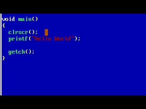 [ C Programming Language ] Tutorial. Part-A : Lecture-3: Hello World thumbnail