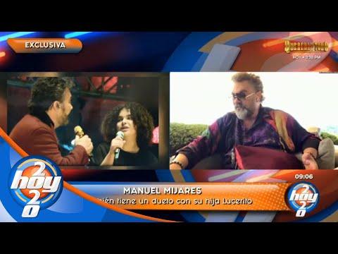 Mijares lanza nuevo disco en donde hace dueto con su hija   Hoy