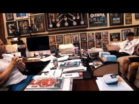 Muscle Beach TV-Jay interviews Matt Jansen at his home Part 1
