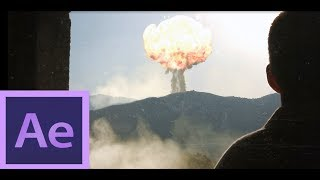 Nuclear Explosion - After Effects - Speed Art