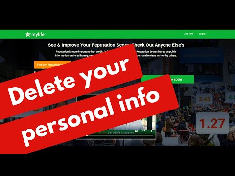 How to remove your personal information from MyLife com