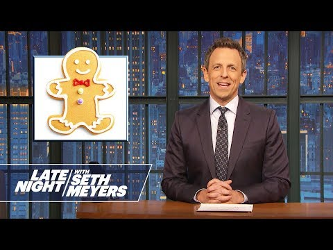 Most-Searched Celebrities of 2018, Gingerbread People - Monologue