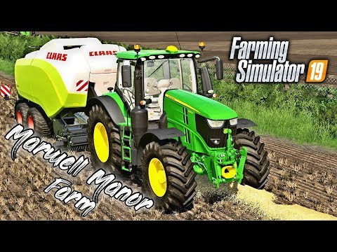NEW CLAAS QUADRANT | Marwell Manor Farm - Episode 1 5 (Live)