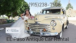 EL Paso Antique Car Rental