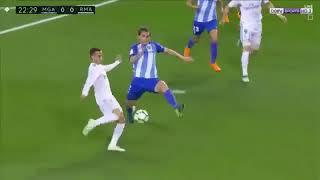 Málaga 1 x 2 Real Madrid - MELHORES MOMENTOS - Campeonato Espanhol 2018