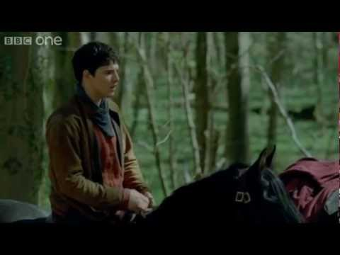Merlin And Arthur Sense Trouble - Merlin - Series 5 Episode 3 - BBC One