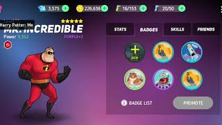 Disney Heroes Battle Mode: 5 Staring Mr Incredible 🌟 🌟 🌟 🌟 🌟