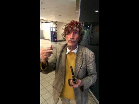Sherlock Holmes  Hauptbahnhof Neumünster