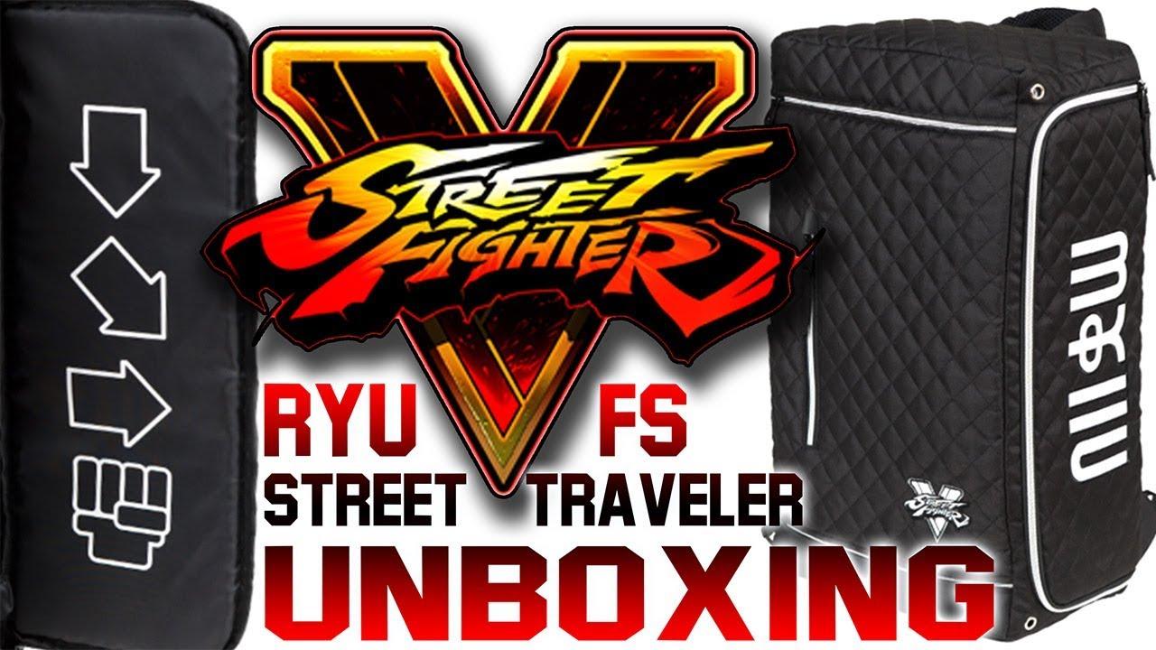 Ryu Fight Stick Street Traveler V2 From Arcadeshock/Splitframe