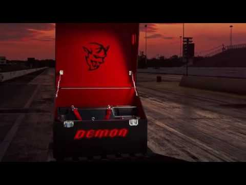 2018 Dodge Challenger SRT Demon dual identities a hardcore drag car and a street legal road warrior